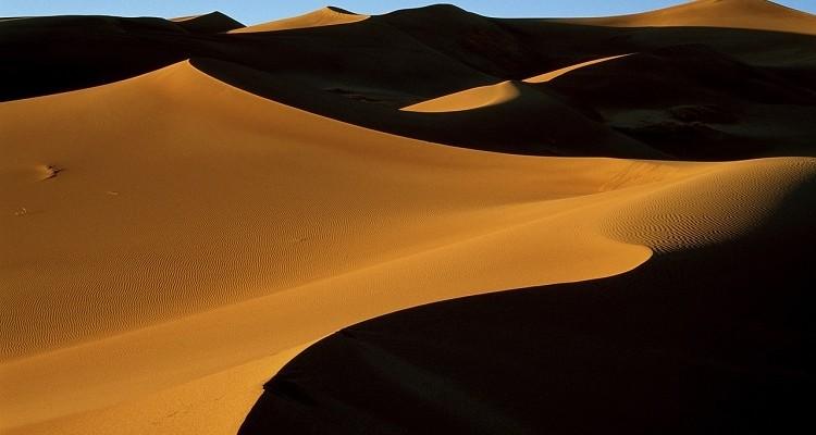 Espejismos en el desierto.