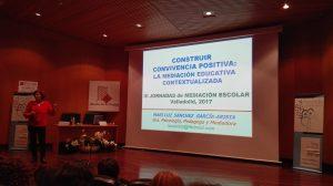 Mari Luz Sánchez García Arista, III Jornadas de Mediación Escolar de Valladolid