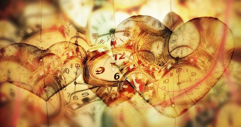 relojes, tiempo y corazones